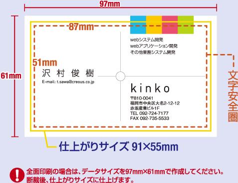 名刺印刷 データ入稿 pdf 新宿